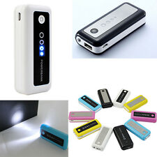 5600mAh External Portable USB Power Bank Backup Battery for Cell Phone iPhone US