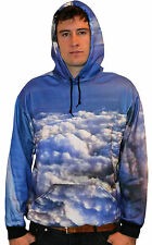 DNA AMSTERDAM LOS ANGELES [ABOVE THE CLOUDS] HOODIE PULLI SWEATER ALLOVER LA  DN