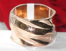 TK867PB  NO STONE CHUNKY ROSE GOLD  RING STAINLESS STEEL 316L NEVER TARNISH