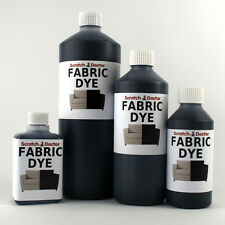 BLACK Liquid Fabric Dye for Sofa, Clothes, Denim, Upholstery etc. ALL SIZES