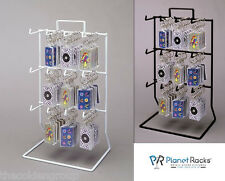 2 Planet Racks 3 Tier 12 Peg Counter Displays - Black or White