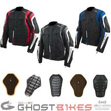 ARMR MOTO IKEDO MOTORCYCLE WATERPROOF CE APPROVED ARMOUR SHORT MOTORBIKE JACKET