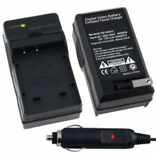 NP-BG1 NP-FG1 Car Wall Home AC Charger Set For SONY CyberShot Camera