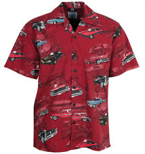 Pontiac Firebird GTO Classic Cars Hawaiian Camp Shirt by David Carey