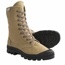 New Mens Ruko Tall Khaki Canvas Hiking Trail Work Desert Boots 6 7
