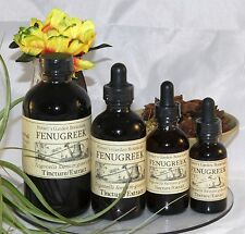FENUGREEK Tincture Extract  ~lower cholesterol~ 4sizes