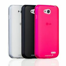 New Flexible Slim Fit TPU Durable Armor Case Cover Skin for LG Optimus L90 D415