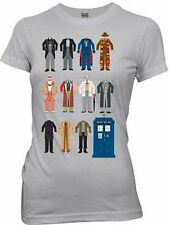 DOCTOR WHO OUTFITS ALIEN TRAVELLER SCIENCE FICTION JUNIORS T TEE SHIRT S-XL