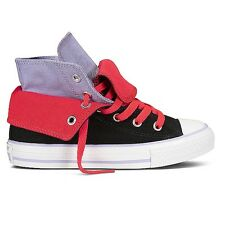 Converse Chuck Taylor All Star Two Fold High Black/Purple/Red Double New