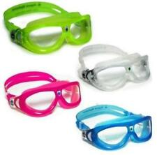 Aqua Sphere Seal Childs Kids Swimming Goggles Mask Blue Lime Transparent Pink