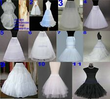 new Crinoline Bridal wedding bridesmaid Underskirt A Line hoop short petticoat