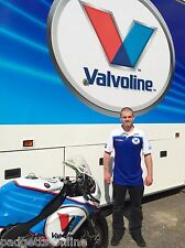 Genuine Valvoline racing by Padgetts motorcycles Race Replica T-Shirt Polo