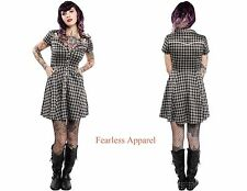 SOURPUSS WESTERN OCTOPUS NAUTICAL RETRO 50s PUNK PINUP TATTOO SAILOR DRESS S-XXL