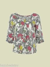 White Stuff teacup lovely print all season top,  NEW 8-18 rrp £37.50