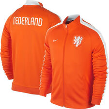 Nike Holland - Netherlands WC World Cup 2014 Anthem LU  Soccer Jacket New Orange