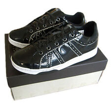 GEOX Tmania Shoes Trainers black Size 34-39 New Leather Trainers