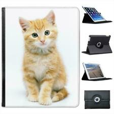 Cute Cat Folio Wallet Leather Case For iPad 2, 3 & 4