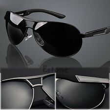 Men Outdoor Sports Polarized Eyewear Sunglasses Aviator Driving Sun Glasses