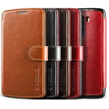 Verus LG G3 Wallet Case[Two Tone Layered Dandy] Premium Vintage PU Leather Cover
