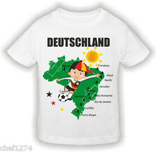 Wm Fan Shirt Germany Children | Football Wm 2014 | With Nombre Désiré And Name