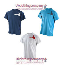Spiro Mens Dash Training Shirt Activewear - Mens sports top - sizes s to 4xl