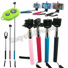 Selfie Handheld Monopod + Holder+ Bluetooth Shutter Remote Control For Phone