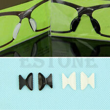 5Pair Eyeglass Sunglass Glasses Spectacles Anti-Slip Silicone Stick On Nose Pad