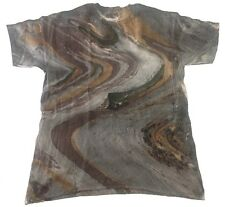 Marble Camo Tie Dye T-Shirts Size Youth XS to Adult XL.100% Cotton, Gildan
