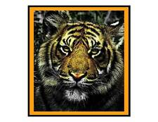 Custom Made T Shirt  Awesome Tiger Picture Beautiful Gorgeous Face Big Cat