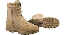 """NEW IN BOX! ORIGINAL S.W.A.T. Classic 9"""" Side Zip Work Boots Tan Suede 115202"""