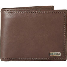Relic Mark Traveler Wallet 2 Colors Mens Wallet NEW