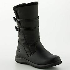Women Totes Judy Midcalf Black Waterproof Thermolite Winter Boots  8 9  Wide