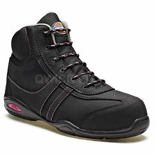 LADIES DICKIES VERONA SAFETY STEEL TOE CAP HIKER WOMENS WORK ANKLE BOOTS SHOES