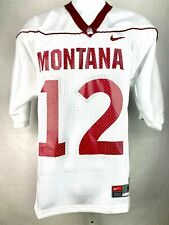 Montana Grizzlies Football Jersey White 12