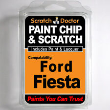 FORD Fiesta Touch Up Paint Stone Chip Scratch Repair Kit 2008-2010