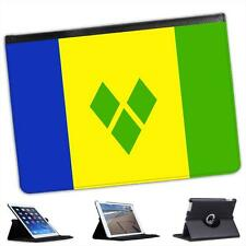 Saint Vincent And The Grenadines Flag Folio Leather Case For iPad Air & Air 2