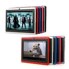 """Multi-Colors Q8 7"""" 8GB Capacitive Android 4.0 Tablet PC 1.2GHz 512MB A13 Camera"""