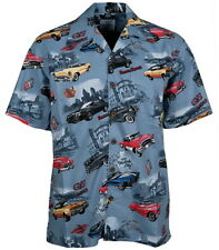 Buick  Classic Cars Regal Skylark Riviera Hawaiian Camp Shirt by David Carey