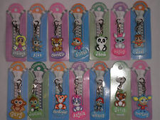 ZIPPER PALS PERSONALISED KEY RING GIRLS /BOYS ZIPS CHARM BACK TO SCHOOL