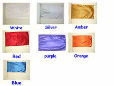 1 Child Size -Satin - Rectangle Flag w Pole -Many color to choose Worship Dance