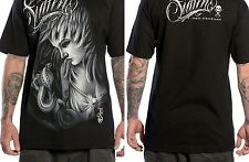 SULLEN CLOTHING JAMES STRICKLAND BLACK TATTOO INK SKULL PUNK GOTH T SHIRT S-5XL