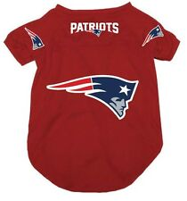 NEW ENGLAND PATRIOTS PET DOG MESH FOOTBALL JERSEY ALL SIZES ALTERNATE RED