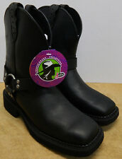 Justin Gypsy Womens Black Harness Motorcycle Boots L9991   New in BOX