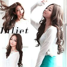 4 Colors Long Wavy Curly Hair Full Weave Wigs Cosplay Party/Daily Wear 2014 New