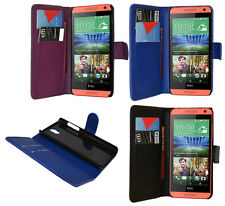For HTC Desire 610 Mobile Phone PU Wallet Flip Case Cover Pouch