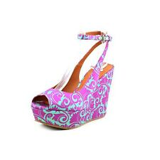 Marc By Marc Jacobs 635873 Womens Peep Toe Wedges Heels Shoes