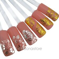 Pretty 3D Flower Nail Art Stickers Tips Decal Decoration Manicure Accessories