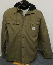 Carhartt Mens Roane  Hooded Fleece Lined Jacket  100586 908 New With Tags