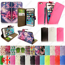 Printed Wallet Book Flip Leather Case Cover For Apple iPhone 6 4.7 inch + Stylus