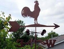 Rooster Weathervane - Old Fashion Antique Look - With Choice of Mount